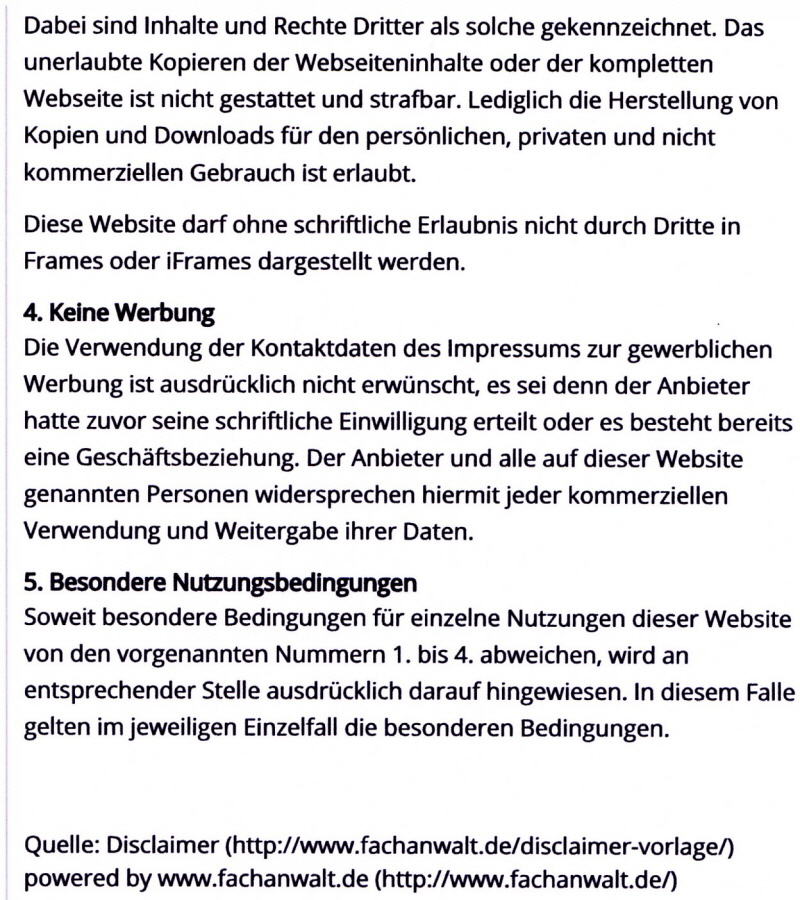 Erfreut Website Haftungsausschluss Vorlage Galerie ...